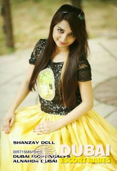 escort Sexy Young SHANZAY ALNAHDA DUBAI